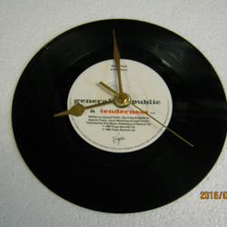"General Public - ""Tenderness"" Record Wall Clock"