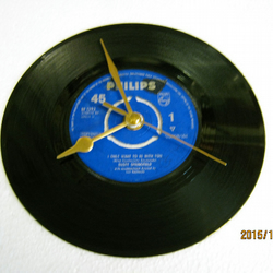 "Dusty Springfield - ""I Only Want To Be With You"" Record Wall Clock"
