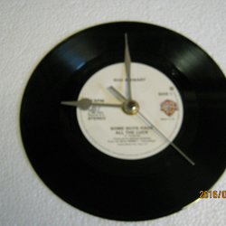 "Rod Stewart - ""Some Guys Have All The Luck"" Record Wall Clock"