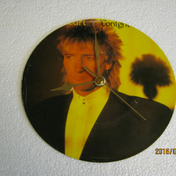 "Rod Stewart - ""Tonight I'm Yours"" Record Sleeve Wall Clock"