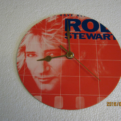 "Rod Stewart - ""Some Guys Have All The Luck"" Record Sleeve Wall Clock"