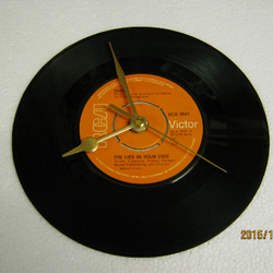 "The Sweet - ""The Lies In Your Eyes"" Record Wall Clock"