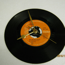 "The Sweet - ""The Ballroom Blitz"" Record Wall Clock"