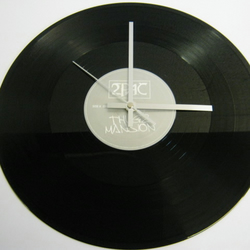 "2PAC - ""Thugz Mansion"" Record Wall Clock"