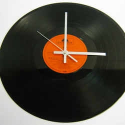 "Kuni - ""Masque"" Record Wall Clock"
