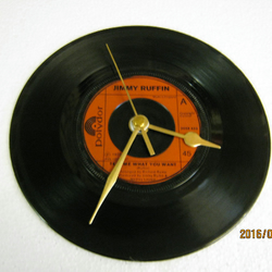 "Jimmy Ruffin - ""Tell Me What You Want"" Vinyl Record Wall Clock"