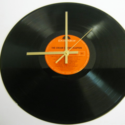 "Eric Clapton - ""The Cream Of"" Record Wall Clock"