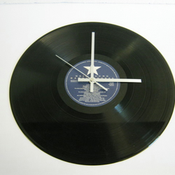 "Neil Young ""Hawks & Doves"" 12"" Vinyl Record Wall Clock"