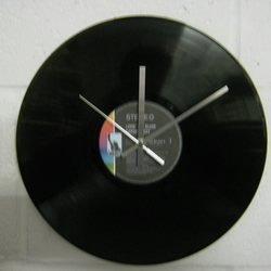 "Canned Heat -  ""Living The Blues"" 12"" Record Sleeve Wall Clock"