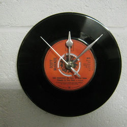 "Scott McKenzie - ""San Francisco"" 7"" Vinyl Record Wall Clock"