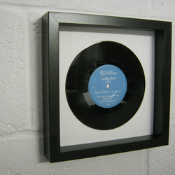 "Phil Collins -  ""Sussudio"""" Wall Framed 7"" Record"
