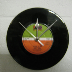 "Ben E. King - ""Stand By Me"" 7"" Vinyl Record Wall Clock"