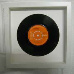 "Elvis Presley - ""Can't Help Falling In Love"" Wall Framed 7"" Record"