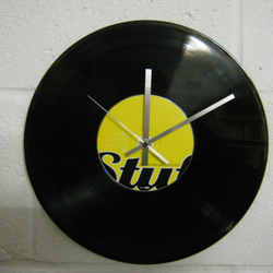 "The Dave Matthews Band -  ""Busted Stuff"" 12"" CD & Vinyl Record Wall Clock"