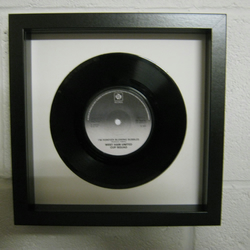 "West Ham United - ""I'm Forever Blowing Bubbles"" Wall Framed 7"" Record"