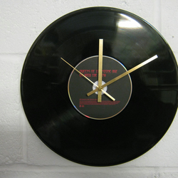 "Queens Of The Stone Age  -  ""Go With The Flow"" 12"" CD & Vinyl Record Wall Clock"