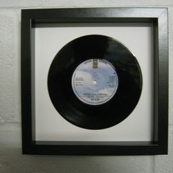 "The Eagles - ""Hotel California"" Wall Framed 7"" Record"