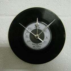 "Dire Straits - ""Romeo and Juliet"" 7"" Vinyl Record Wall Clock"