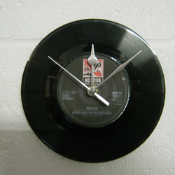 "Echo and The Bunnymen - ""Rescue"" 7"" Vinyl Record Wall Clock"
