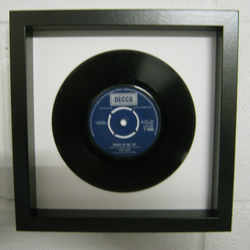 "Thin Lizzy - ""Whiskey In The Jar"" Wall Framed 7"" Record"
