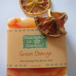 Handmade Sweet Orange Shea Butter Soap