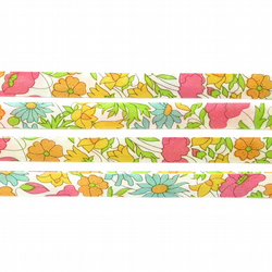 Poppy and Daisy J - Liberty fabric bias binding, haberdashery supplies