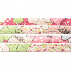 Mauvey C - Liberty fabric bias binding