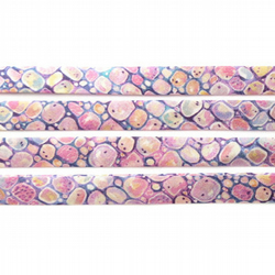 Morris C - pink Liberty fabric bias binding, haberdashery sewing shop