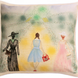 Catwalk to Oz cushion