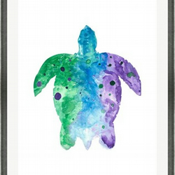 Turtle - Print of Original Watercolour Painting