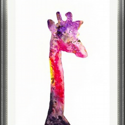 Giraffe - Print of Original Watercolour Painting