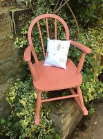 Child S Vintage Rocking Chair Scandinavian Pi Folksy