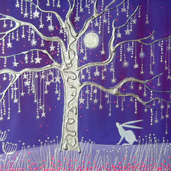 Tree of Stars fine art giclee print from my original painting