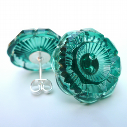 Green Vintage Earrings