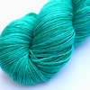 SALE: Titania - Silver Sparkly superwash merino 4-ply yarn