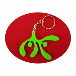Mistletoe Bag Charm and Key Ring