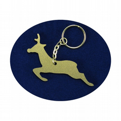 Reindeer Bag Charm and Key Ring