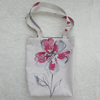 Red flower tote bag, handbag