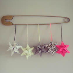 CLOUD GREY CHRISTMAS stars