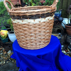 Log Basket (Handmade Willow)