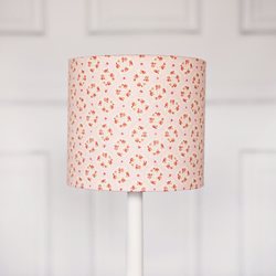 30 cm pink wreath lamp shade, pink and grey lampshade.