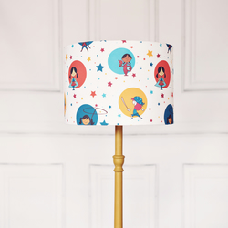 25 cm kids lampshade, nursery lamp shade, girls lamp, childrens lamps, kids lamp