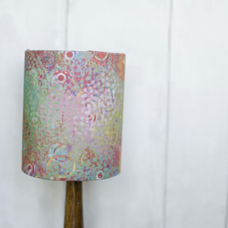30cm Green lamp shade, Bright lamp shade Pink lampshade