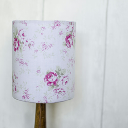 30cm Shabby chic lampshade, Shabby chic living room decor, Floral lampshades