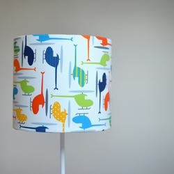 20cm Helicopters Lamp shade