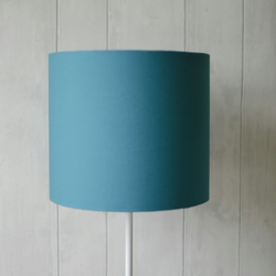 20cm Turquoise Lampshade, Turquoise lamp shade, Teal lampshade, drum lampshade