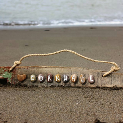 'Love Cornwall' Driftwood Sign