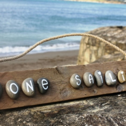 'Gone Sailing' Driftwood Sign