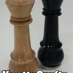 Chess Piece Salt 'n' Pepper Grinder Set