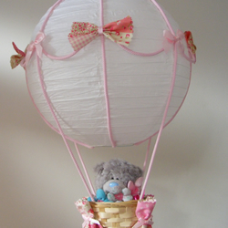 Me to you bear hot air balloon light shade folksy me to you bear hot air balloon light shade aloadofball Images
